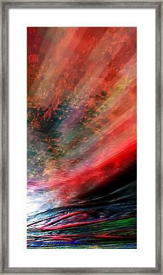 Framed Print featuring the digital art Pittura Digital Ghibill25e by Sheila Mcdonald