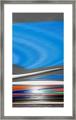 Framed Print featuring the digital art Pittura Digital by Sheila Mcdonald