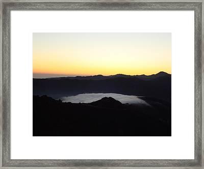 Piuma Framed Print by Roman Lezo