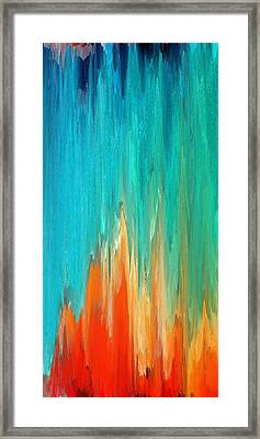 Pixel Sorting 13 Framed Print by Chris Butler