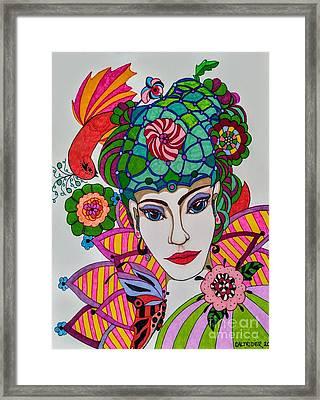 Pixie Girl Framed Print