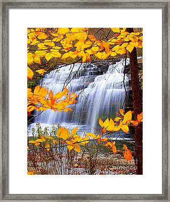 Pixley Falls Framed Print by Diane E Berry