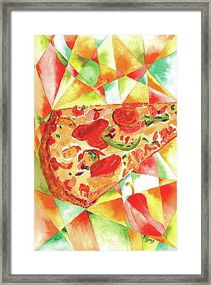 Pizza Pizza Framed Print