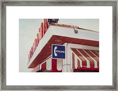Pizzarama Framed Print by Randy Ford