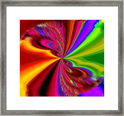 Pizzazz 1 Framed Print by Will Borden