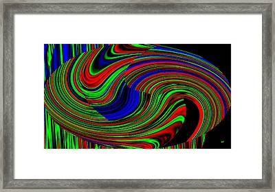 Pizzazz 18 Framed Print by Will Borden