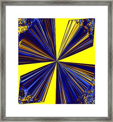 Pizzazz 20 Framed Print by Will Borden