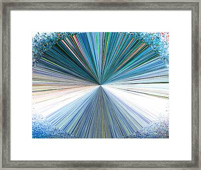 Pizzazz 22 Framed Print by Will Borden
