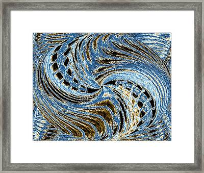 Pizzazz 23 Framed Print by Will Borden