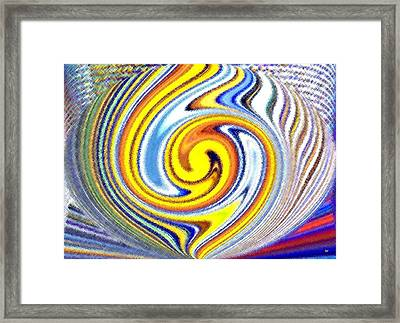 Pizzazz 25 Framed Print by Will Borden