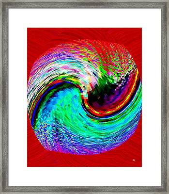 Pizzazz 32 Framed Print by Will Borden
