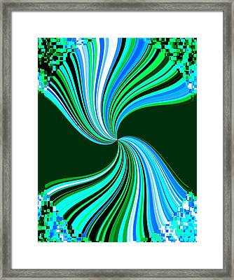 Pizzazz 33 Framed Print by Will Borden