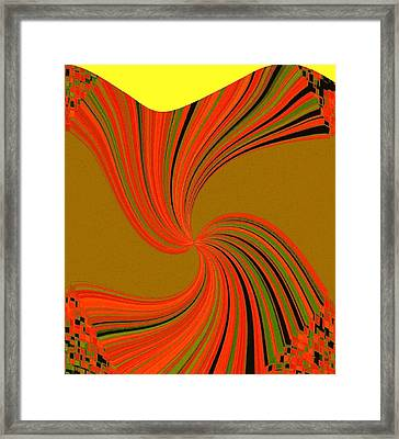 Pizzazz 34 Framed Print by Will Borden