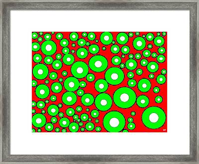 Pizzazz 5 Framed Print by Will Borden