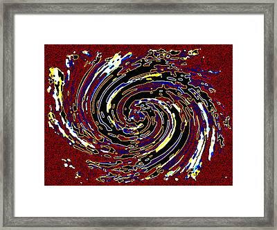 Pizzazz 51 Framed Print by Will Borden
