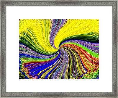 Pizzazz 53 Framed Print by Will Borden