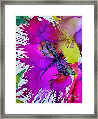 Pizzazz Framed Print
