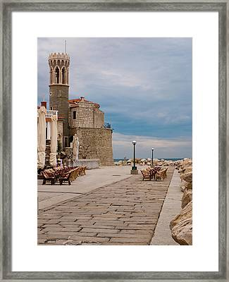Place By The Sea Framed Print by Rae Tucker