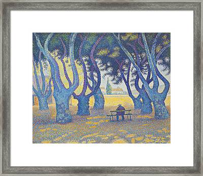 Place Des Lices Framed Print by MotionAge Designs