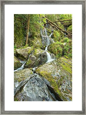 Place Of A Thousand Drips Framed Print by Victor Culpepper