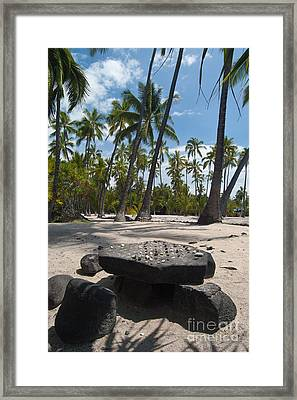 Place Of Refuge Framed Print