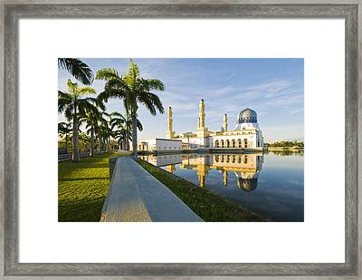 Place Of Worship Framed Print by Ng Hock How
