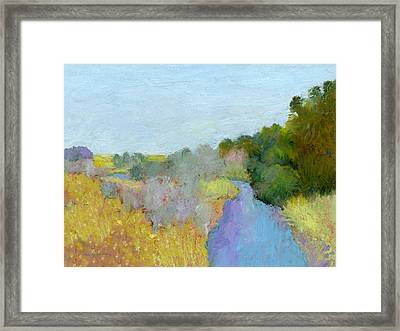 Place That Sings Framed Print by J Reifsnyder