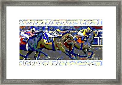 Place Your Bets Framed Print