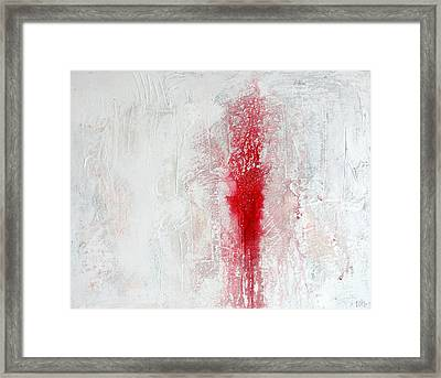 Placid Catastrophe Framed Print