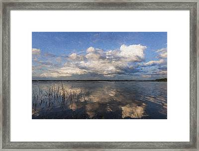 Placid Moment II Framed Print by Jon Glaser