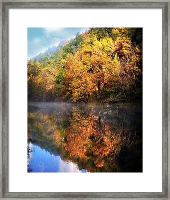 Placid Morning Framed Print by Marty Koch