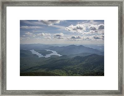 Placid View Framed Print