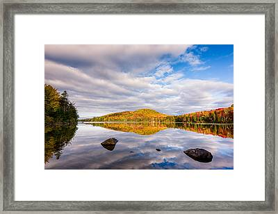 Placidity Framed Print by Michael Blanchette