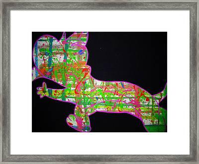 Plaid Framed Print