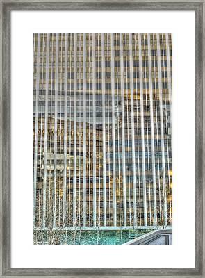 Plaid Light In La Framed Print