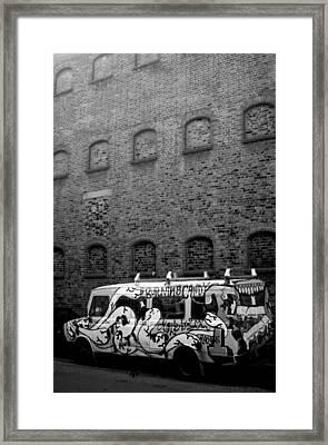 Plain And Fancy Framed Print by Jez C Self
