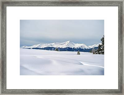 Plain And Simple Framed Print by Jeremy Rhoades