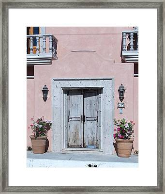 Plain Door Framed Print by James Johnstone