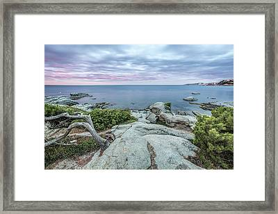 Plain Rocks Cove, Sant Antoni De Calonge Framed Print