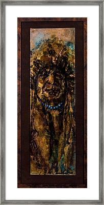 Plains Indian Chief Framed Print