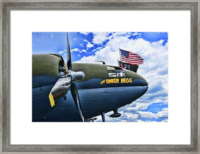 Plane - Curtiss C-46 Commando Framed Print