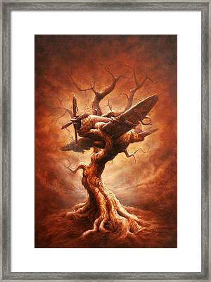 Plane Old Tree Framed Print