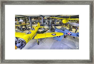 Planes Galore  Framed Print