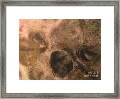 Planet Framed Print