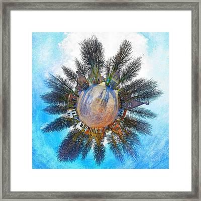Planet Bourtange Framed Print
