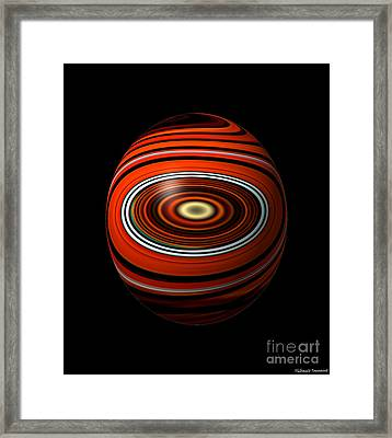 Planet Eye Framed Print