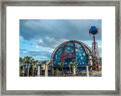 Planet Hollywood Framed Print