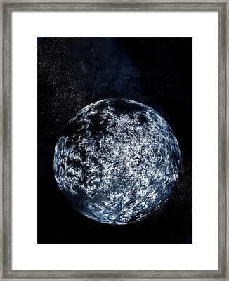 Planet Near A-type Star Framed Print
