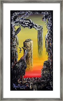 Planet Of Anomalies Framed Print
