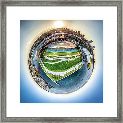 Planet Summerfest Framed Print